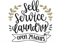 Self service laundry - Open 24 hours