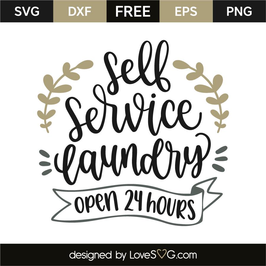 Download Self service laundry - Open 24 hours | Lovesvg.com