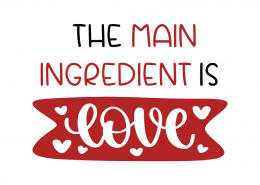 The main ingredient is love