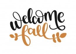 Welcome fall