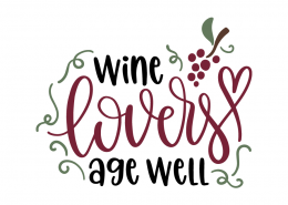 Wine lovers age well