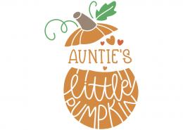 Auntie's little pumpkin
