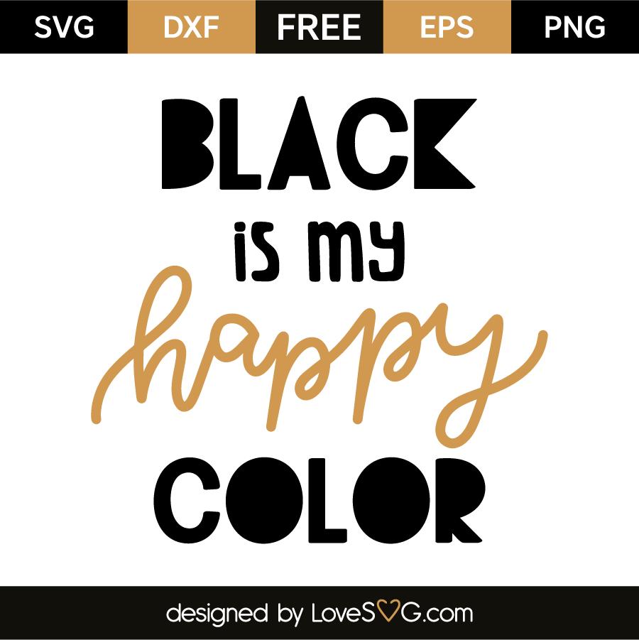 black is my happy color. Black Bedroom Furniture Sets. Home Design Ideas