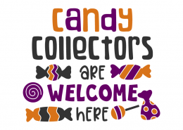 Candy collectors are welcome here