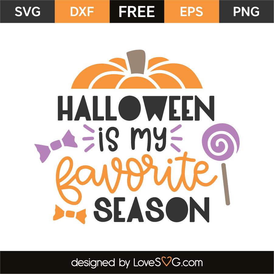Halloween is my favorite season