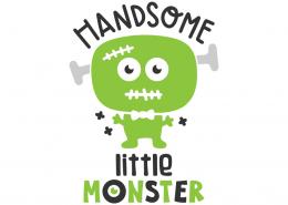 Handsome little monster