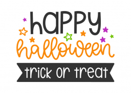 Happy halloween - Trick or treat