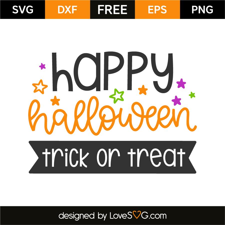 Happy halloween - Trick or treat