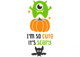 I'm so cute it's scary