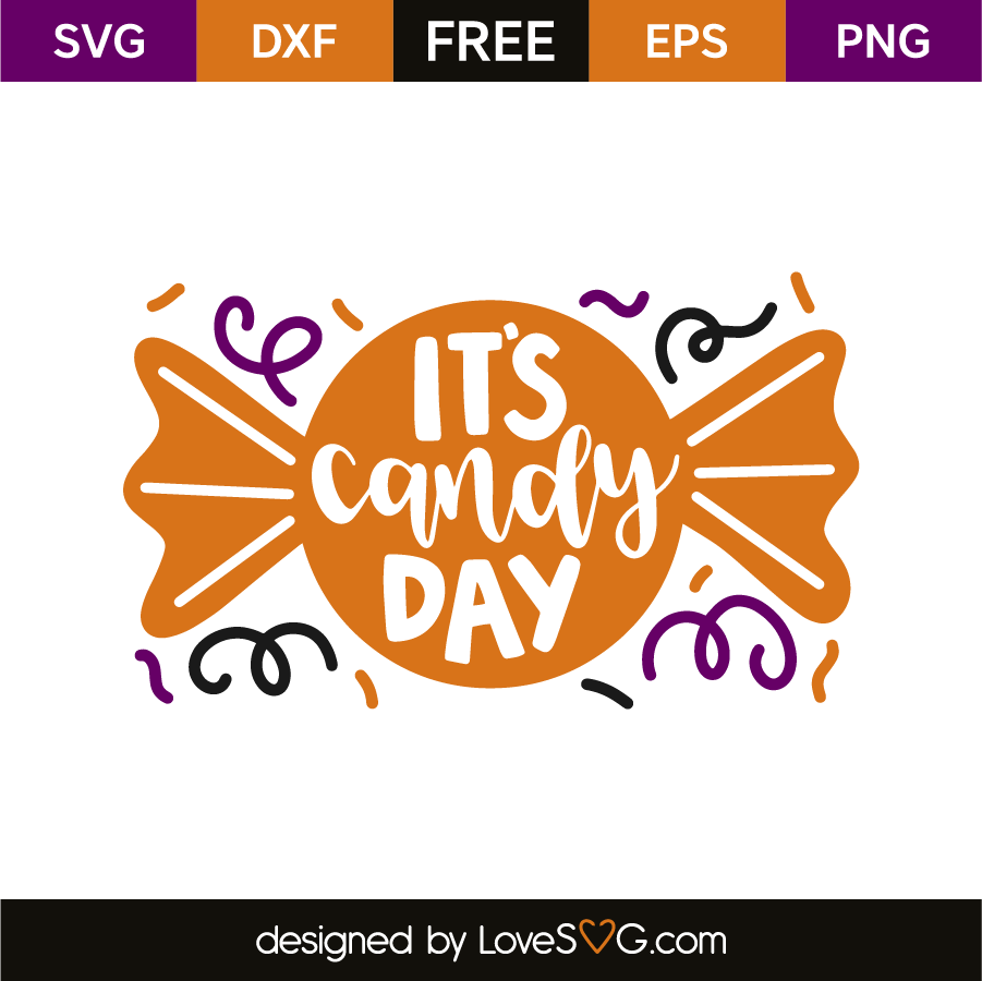 It's candy day