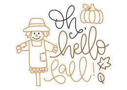 Oh, hello fall!