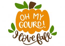 Oh my gourd! I love fall