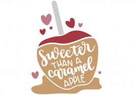 Sweeter than a caramel apple