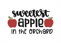 Sweetest apple in the orchard