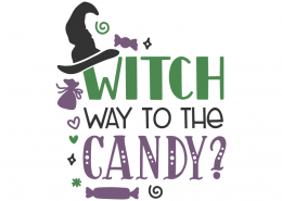 Witch way to the candy?