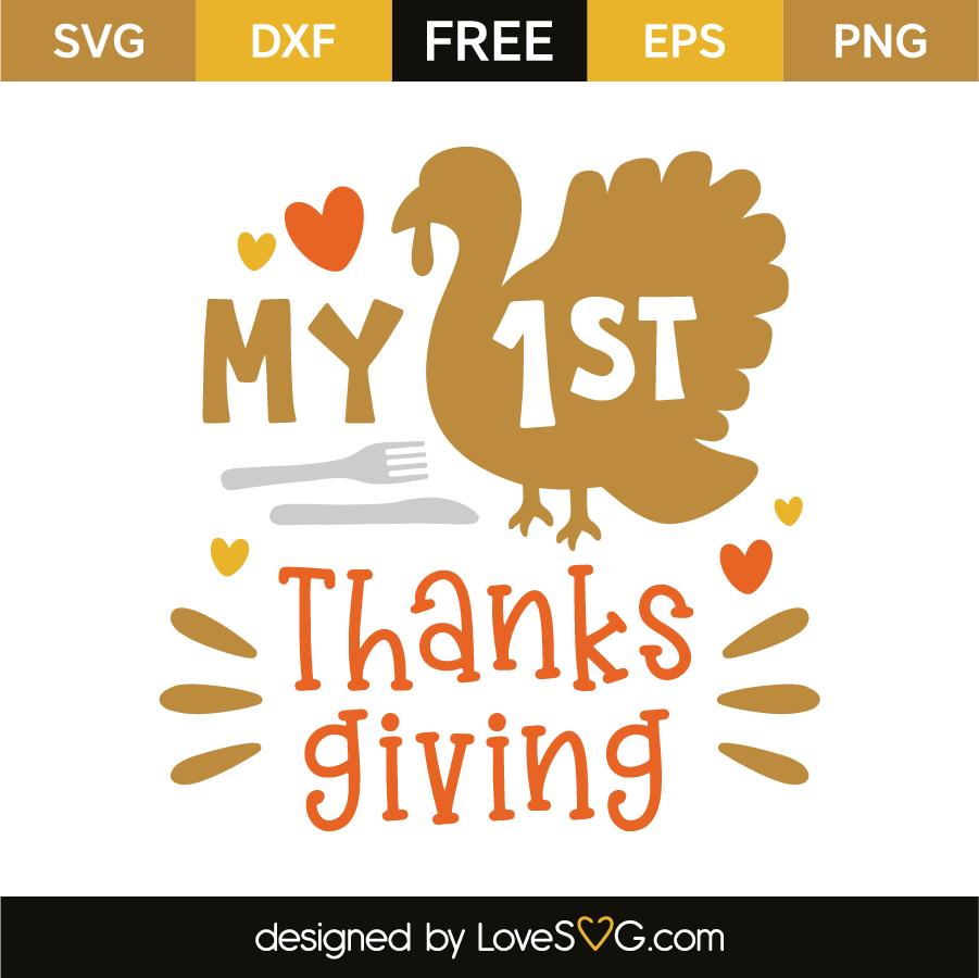 My 1st thanksgiving