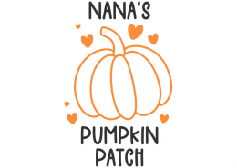 Nana's pumpkin patch