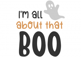 I'm all about that boo