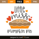 Little miss pumpkin pie