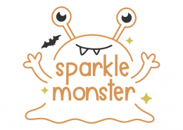 Sparkle monster