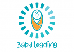 Baby Loading SVG Cut File