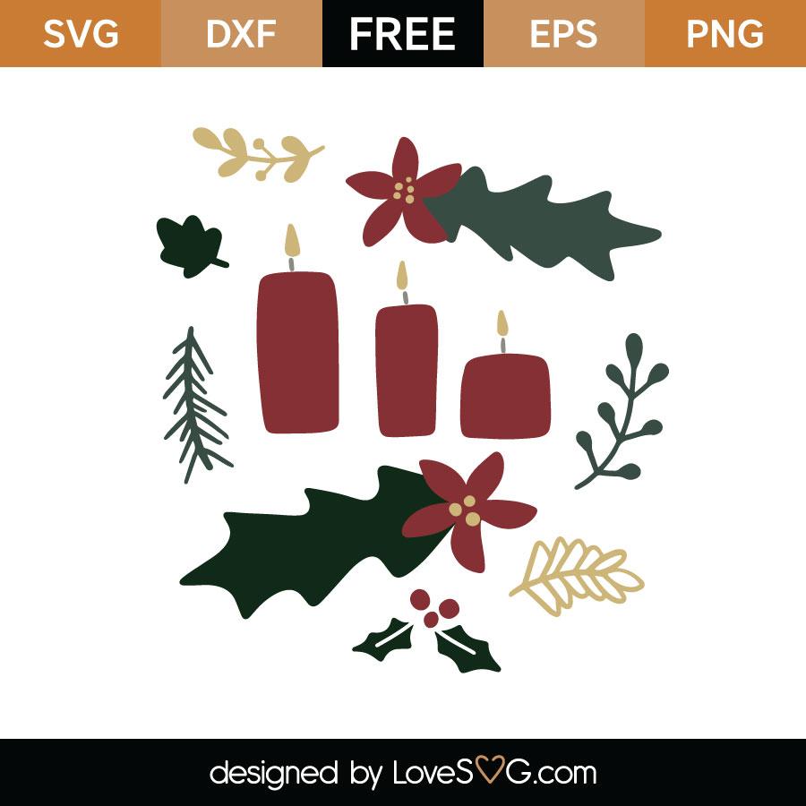 Christmas Illustrations Png.Christmas Illustrations Svg Cut File Lovesvg Com