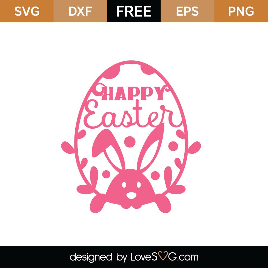 Download Free Easter Egg SVG Cut File | Lovesvg.com