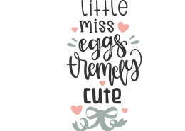 Little Miss Eggs-tremely Cute 8503