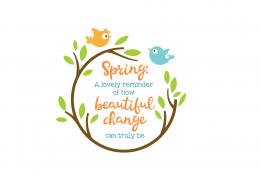 Spring Beautiful Change 8427