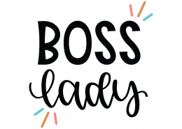 Boss Lady SVG Cut File 8672