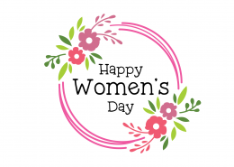 Free Happy Women's Day SVG Cut File