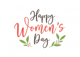 Happy Women's Day SVG Cut File