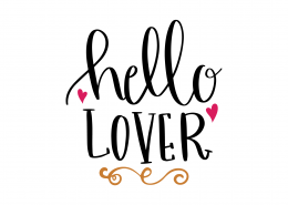 Hello Lover SVG Cut File 8687