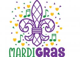Mardi Gras SVG cut File