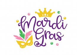 Free Mardi Gras SVG Cut File