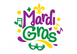 Mardi Gras SVG Cut File 8625
