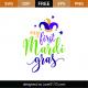 My First Mardi Gras SVG Cut File
