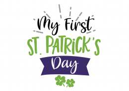 My First St. Patrick's Day 8586