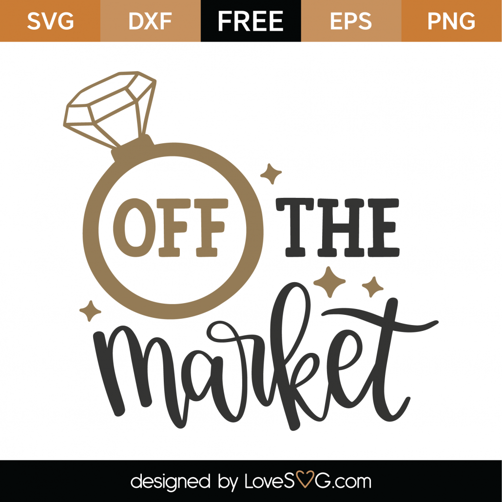 Off The Market SVG Cut File 8675