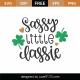 Sassy Little Lassie SVG Cut File 8643