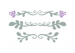 Spring Swashes SVG Cut File 8684