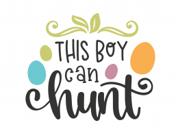 This Boy Can Hunt SVG Cut File 8632