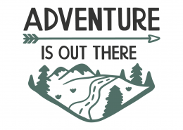 Adventure Is Out There SVG Cut File 8791