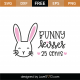 Bunny Kisses 25 Cents SVG Cut File 8748