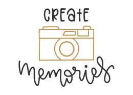 Create Memories SVG Cut File 8820
