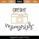 Create Memories SVG Cut File 8820