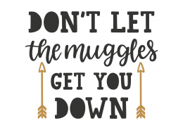 Don't Let The Muggles Get You Down 8804