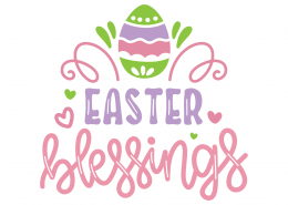 Easter Blessings SVG Cut File