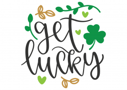 Get Lucky SVG Cut File