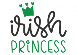 Irish Princess SVG Cut File
